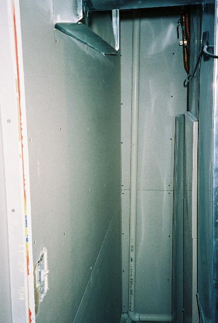 Drywall Corner Behind Furnace