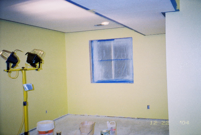 Painting in game room 1 for Room painting games